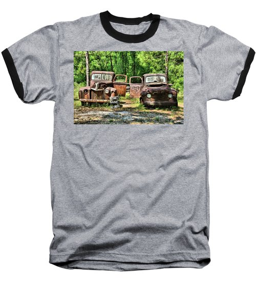 Two Old Dogs Baseball T-Shirt