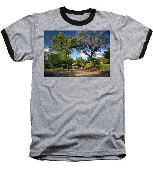 Two Old Oak Trees Baseball T-Shirt