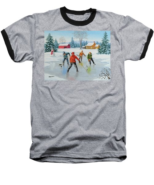 Two On One Baseball T-Shirt