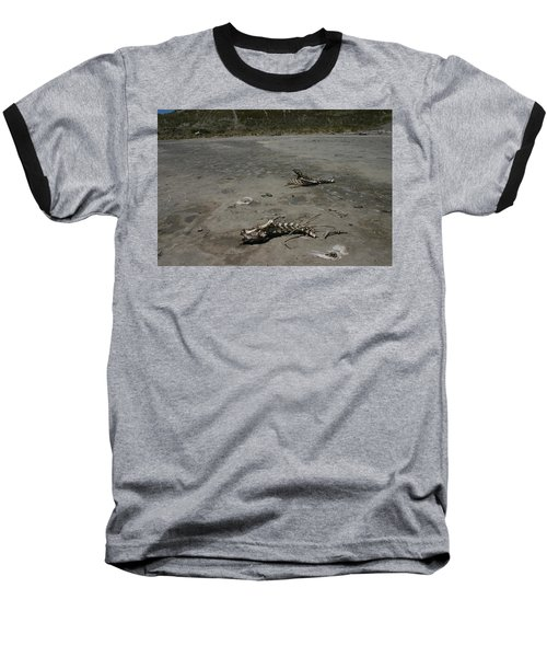 Baseball T-Shirt featuring the photograph Two Or 2 Halves Of 1 by Marie Neder
