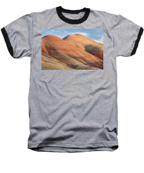 Baseball T-Shirt featuring the photograph Two Painted Hills by Greg Nyquist