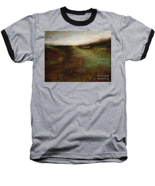 Two Palominos Baseball T-Shirt by Frances Marino