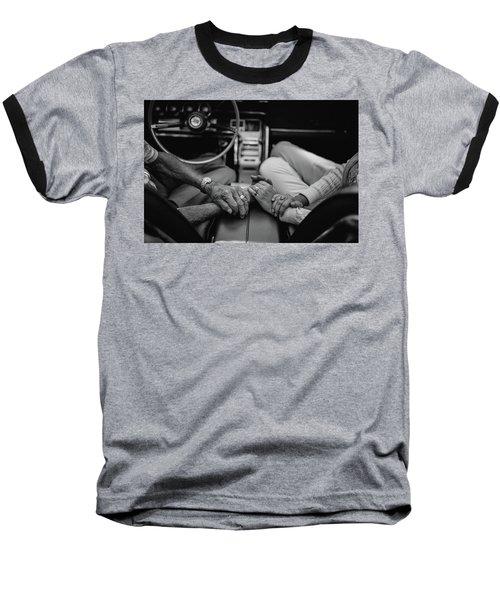 Two People In Love By Michael Grobin Baseball T-Shirt by Tara Moorman