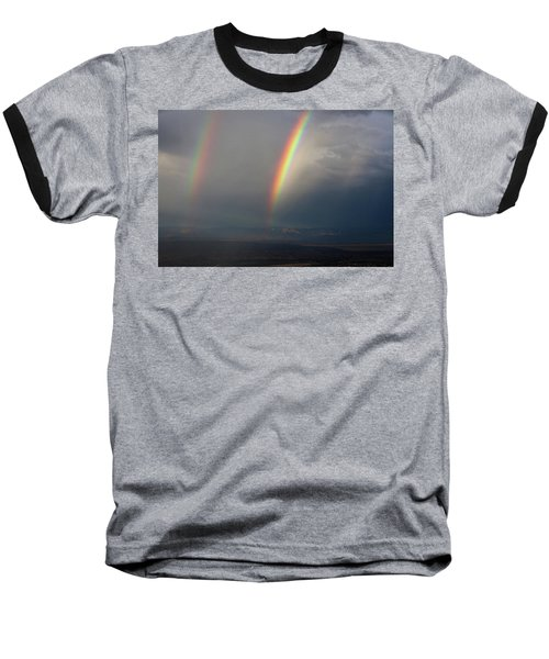Two Rainbows Baseball T-Shirt