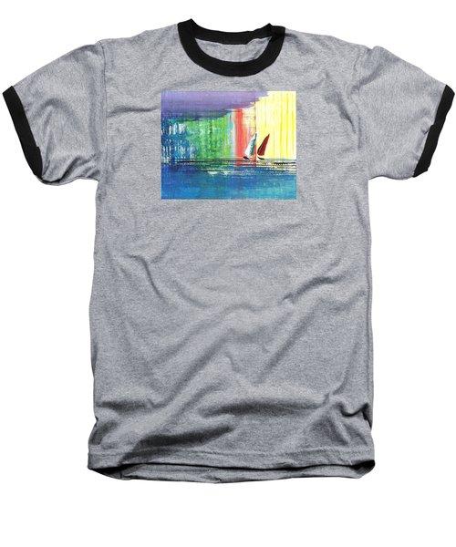 Two Sails Baseball T-Shirt