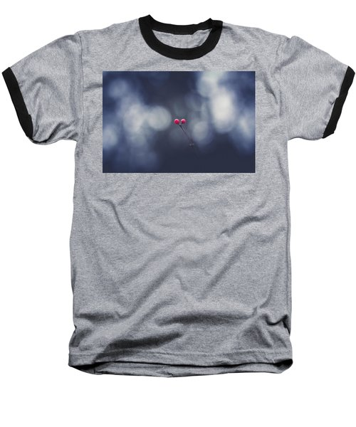 Baseball T-Shirt featuring the photograph two by Shane Holsclaw