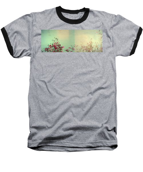 Two Sides Baseball T-Shirt by Mark Ross