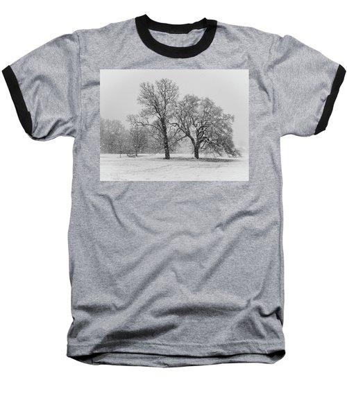 Two Sister Trees Baseball T-Shirt