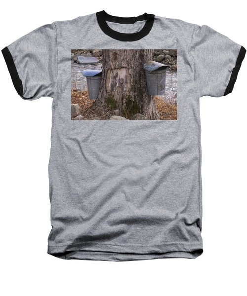 Two Syrup Buckets Baseball T-Shirt