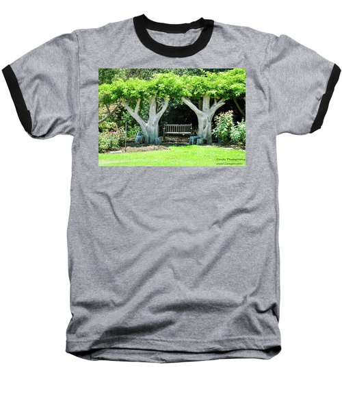 Two Tall Trees, Paradise, Romantic Spot Baseball T-Shirt