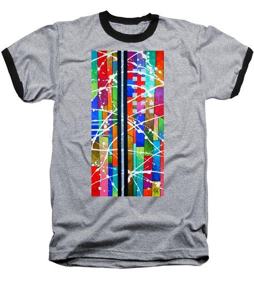 Two Towers Baseball T-Shirt by Jeremy Aiyadurai