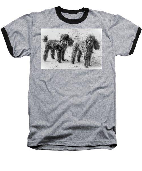 Two Toys B/w Baseball T-Shirt