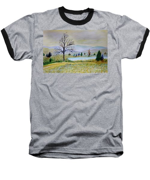 Two Tracking Baseball T-Shirt by Dick Bourgault
