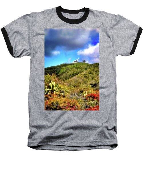 Two Trees In Spring Baseball T-Shirt