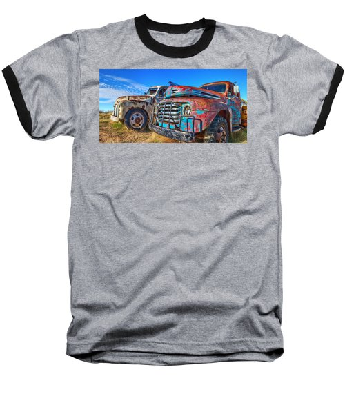 Two Trucks Baseball T-Shirt