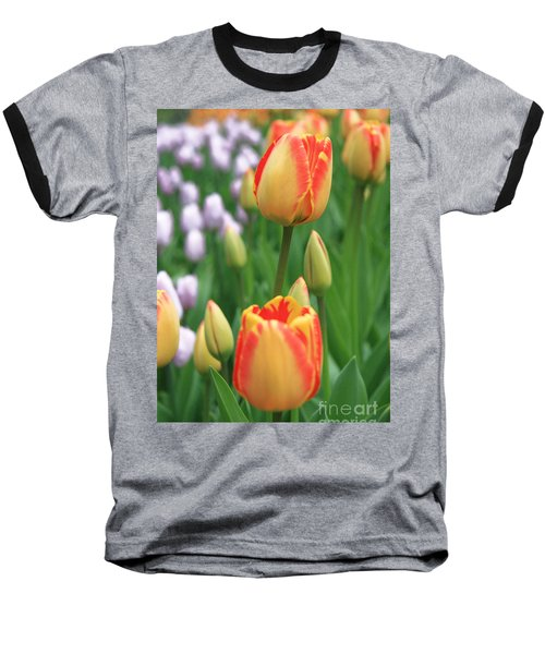 Two Tulips Baseball T-Shirt