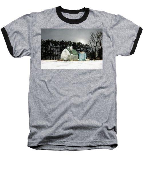 Twos Company Baseball T-Shirt by Julie Hamilton