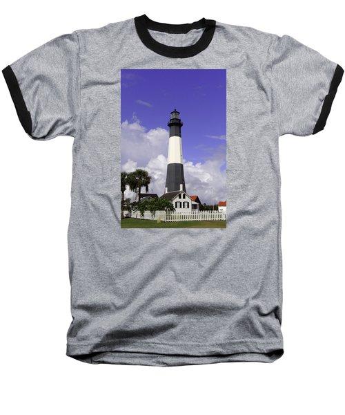 Tybee Island Lighthouse Baseball T-Shirt
