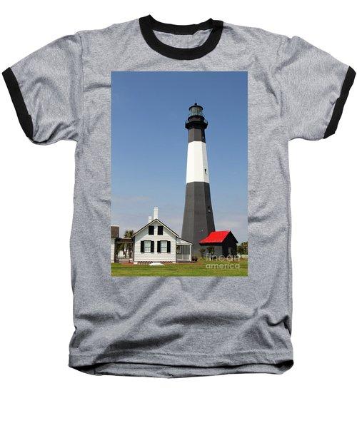 Tybee Lighthouse Georgia Baseball T-Shirt
