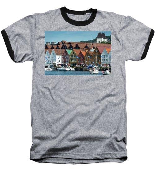 Tyske Bryggen Baseball T-Shirt