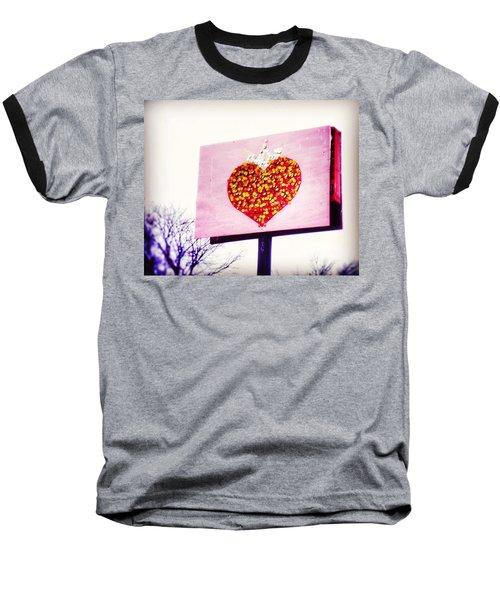 Tyson's Tacos Heart Baseball T-Shirt