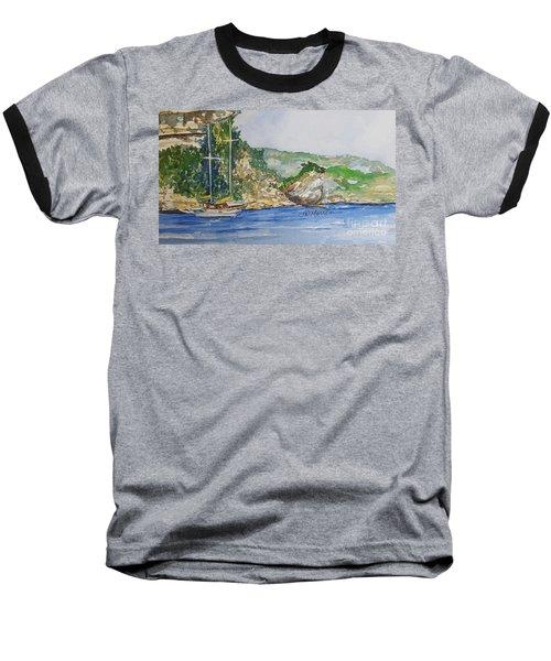 U Capu Biancu Baseball T-Shirt