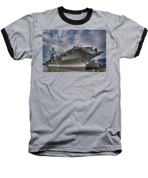 U S S  Intrepid     Baseball T-Shirt