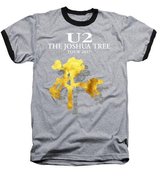 U2 Joshua Tree Baseball T-Shirt by Raisya Irawan