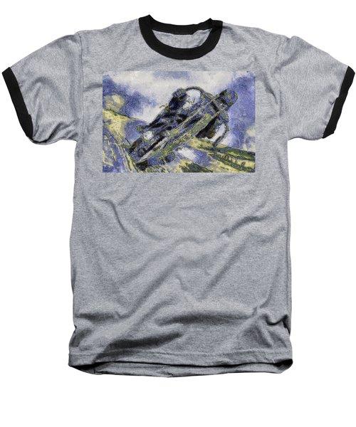 Ubiquitous Harley-davidson Cult Baseball T-Shirt