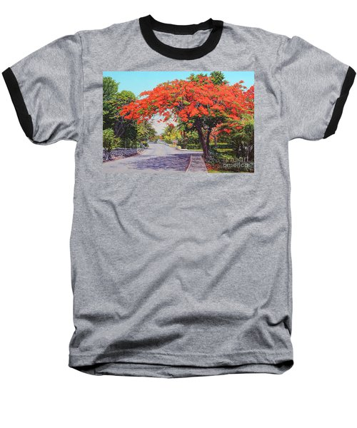 Ubs Poinciana Baseball T-Shirt