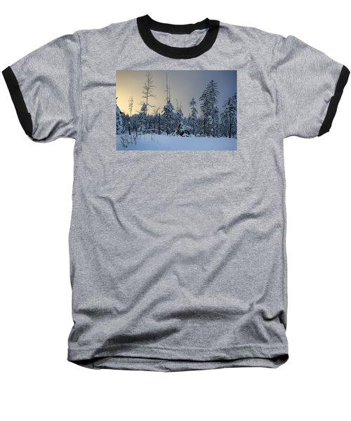 Ufo II Baseball T-Shirt by Dan Hefle
