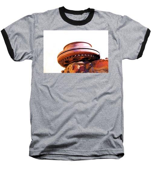 Ufo Landing At Joshua Trees Baseball T-Shirt