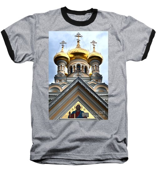 Ukrainian Church Baseball T-Shirt