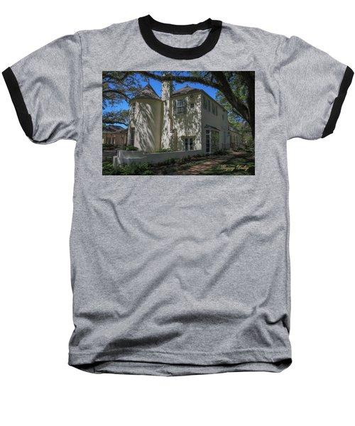 Ul Alum House Baseball T-Shirt by Gregory Daley  PPSA