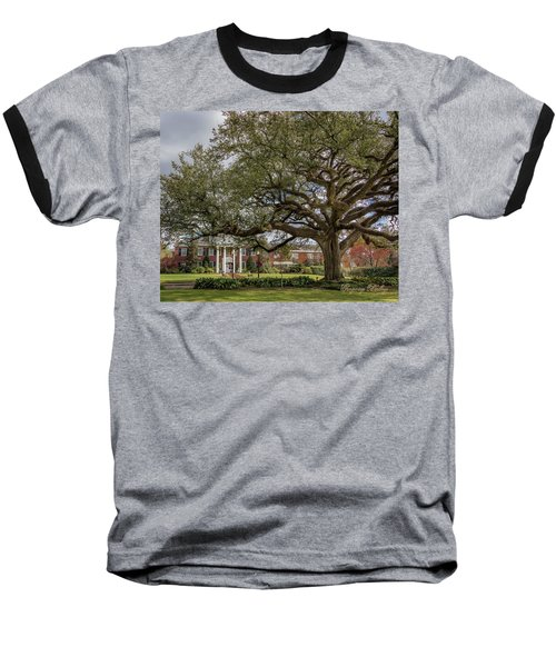 Baseball T-Shirt featuring the photograph Ul President Home 01 by Gregory Daley  PPSA
