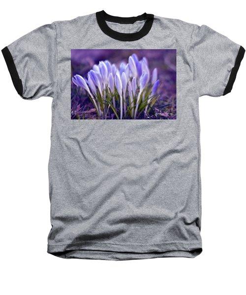 Ultra Violet Sound Baseball T-Shirt