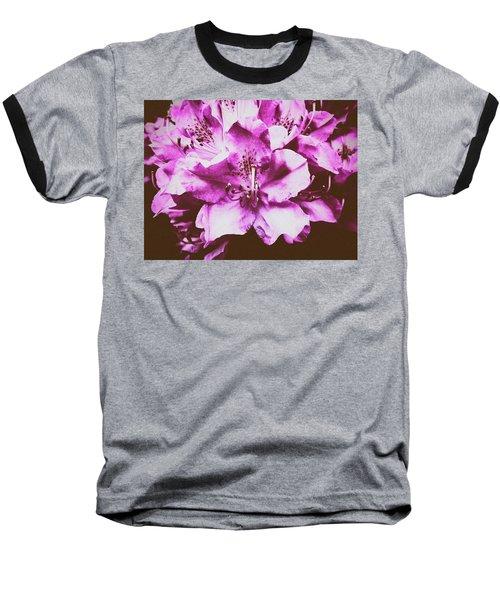 Ultraviolet Baseball T-Shirt by Karen Stahlros