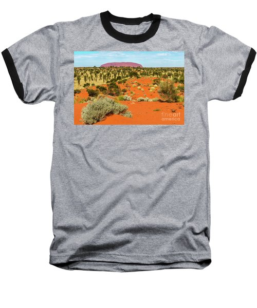 Baseball T-Shirt featuring the photograph Uluru 01 by Werner Padarin