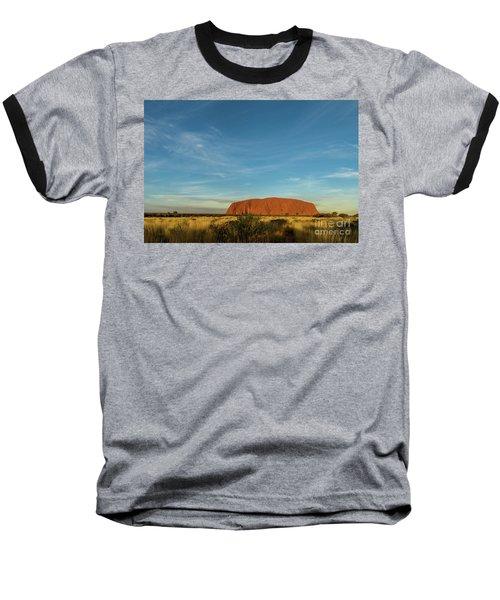 Baseball T-Shirt featuring the photograph Uluru Sunset 01 by Werner Padarin
