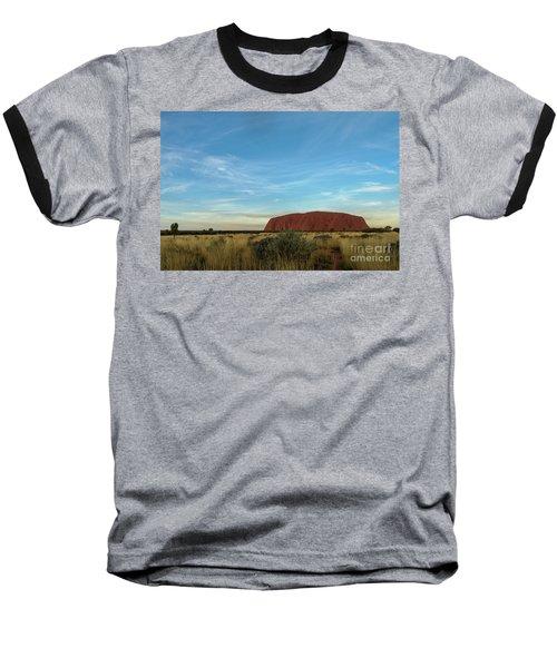 Baseball T-Shirt featuring the photograph Uluru Sunset 02 by Werner Padarin