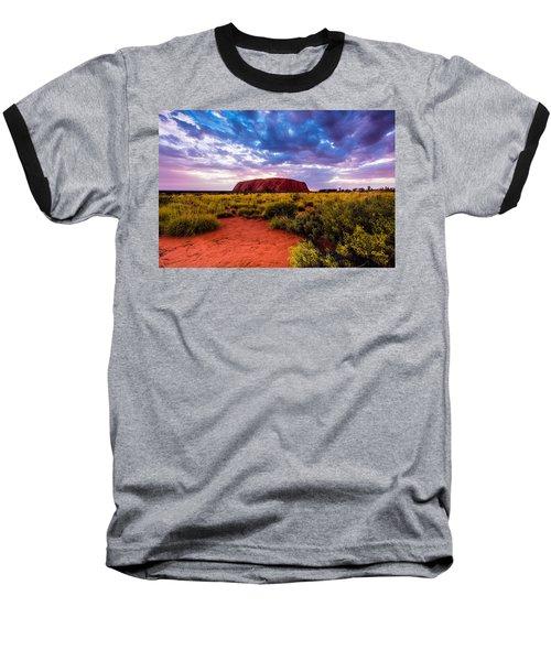 Baseball T-Shirt featuring the photograph Uluru by Ulrich Schade