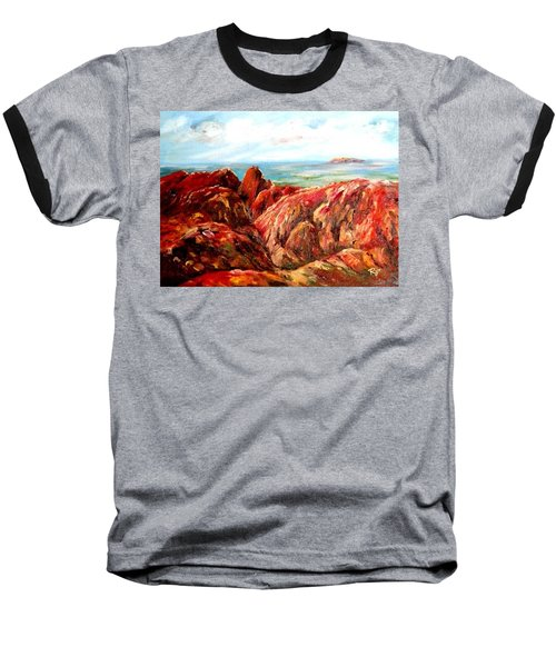 Uluru Viewed From Kata Tjuta Baseball T-Shirt