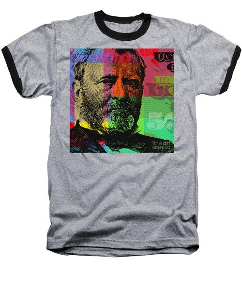 Ulysses S. Grant - $50 Bill Baseball T-Shirt