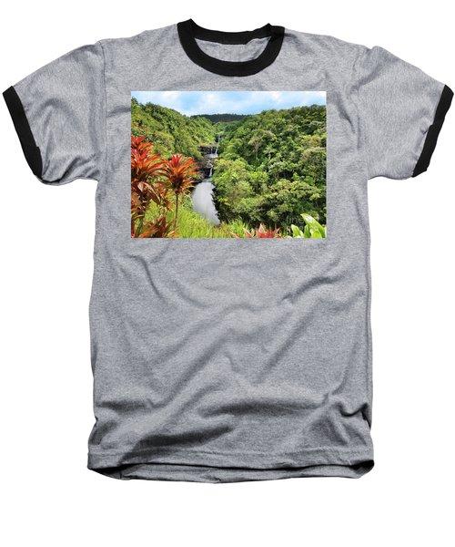 Umauma Falls Baseball T-Shirt