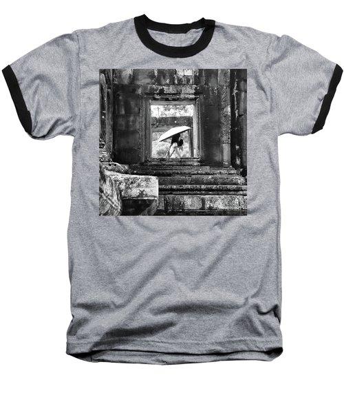 Umbrella Angkor Wat  Baseball T-Shirt