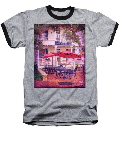 Umbrella Cafe Baseball T-Shirt