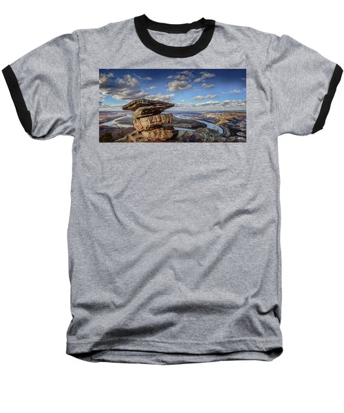 Umbrella Rock Overlooking Moccasin Bend Baseball T-Shirt