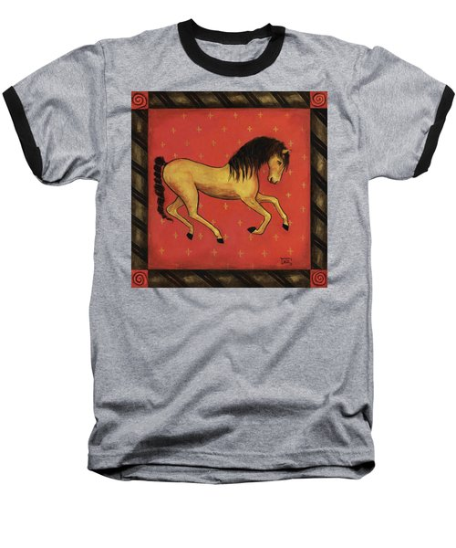 Unbridled ... From The Tapestry Series Baseball T-Shirt by Terry Webb Harshman