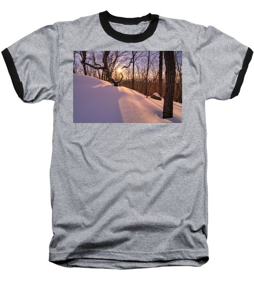 Unbroken Trail Baseball T-Shirt by Craig Szymanski