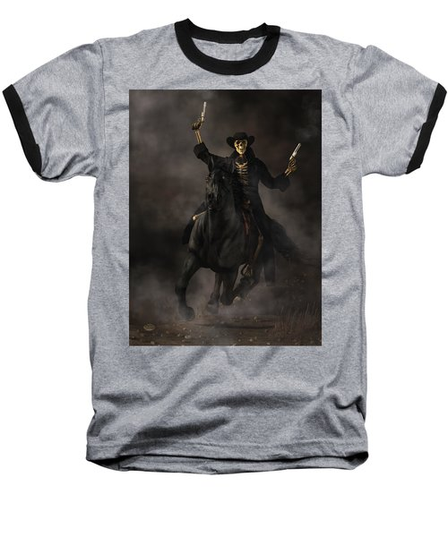Undead Outlaw Baseball T-Shirt